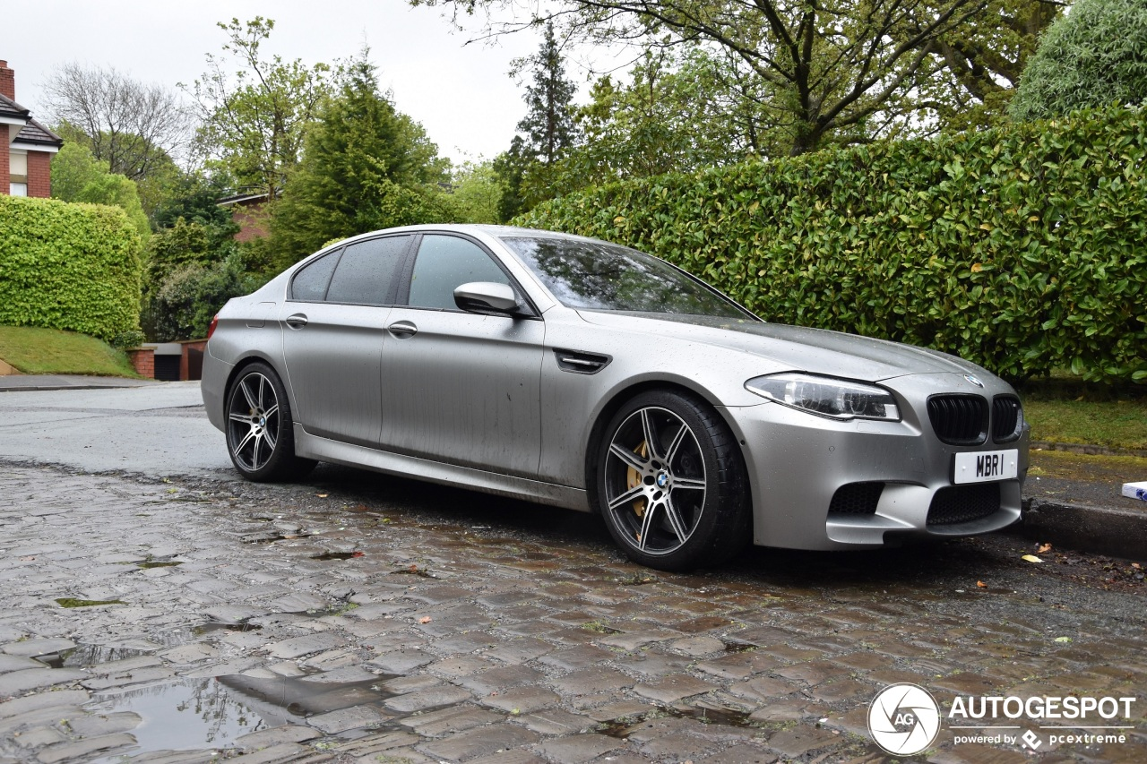 Bmw M5 F10 30 Jahre Edition 4 May 2019 Autogespot