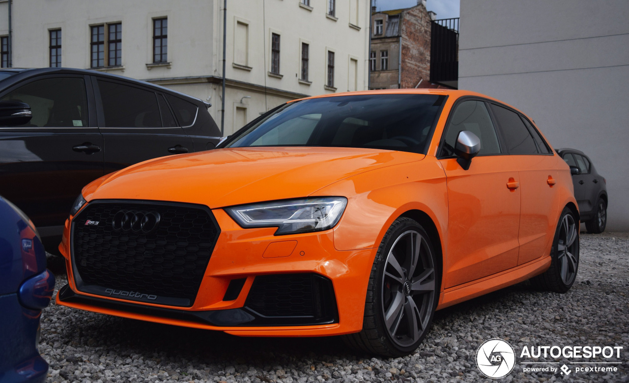 Audi RS3 Sportback 8V 2018 - 5 May 2019 - Autogespot