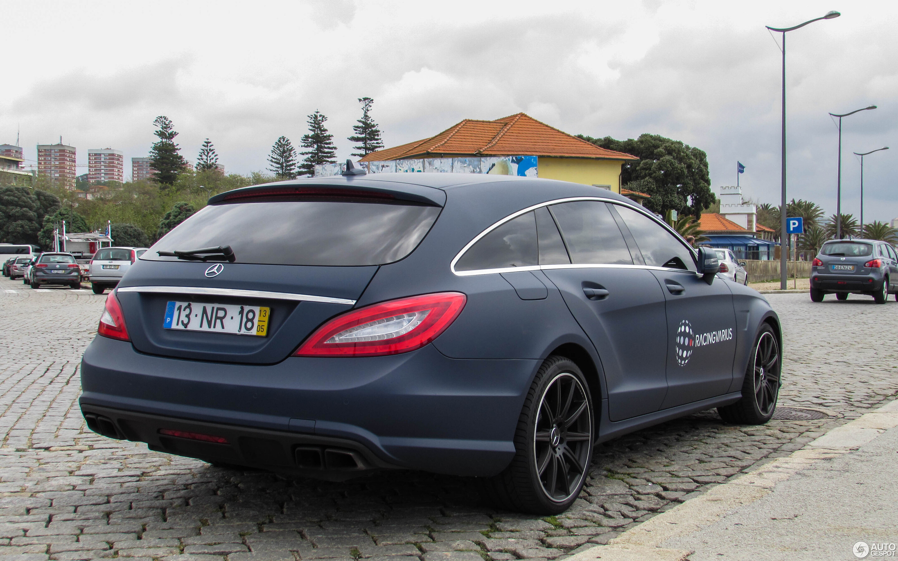 Mercedes cls shooting brake 2019
