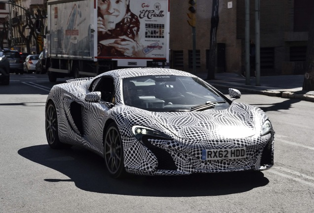 McLaren 650S Spider Mule