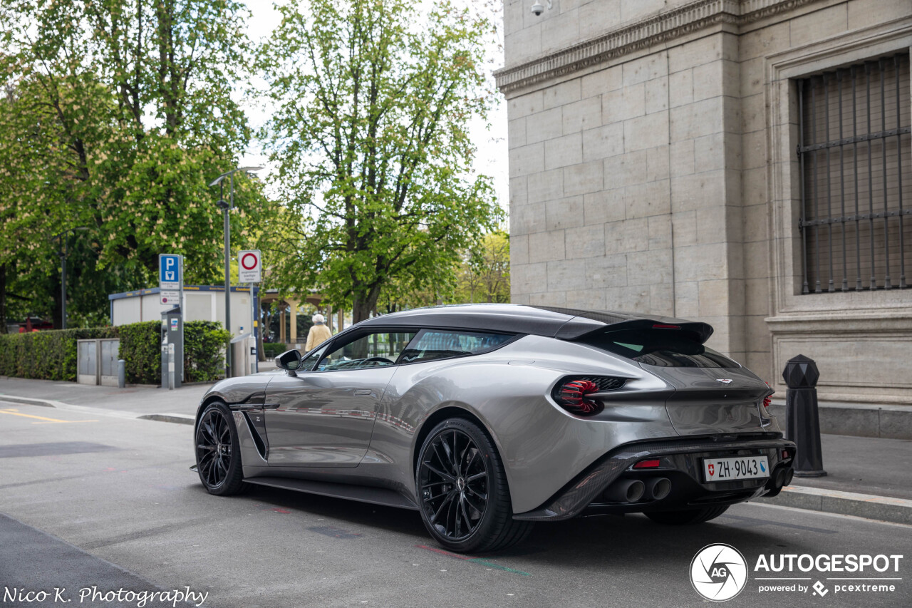 Aston Martin Vanquish Zagato Shooting Brake 12 May 2019 Autogespot