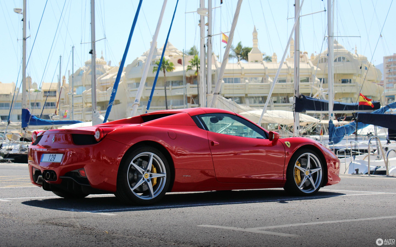 Ferrari 458 Spider - 12 mei 2019 - Autogespot
