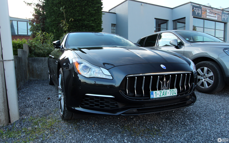 Maserati Quattroporte GTS GranLusso - 16 May 2019 - Autogespot