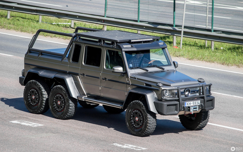Mercedes Amg 6x6