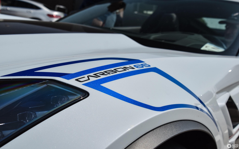 Chevrolet Corvette C7 Grand Sport Carbon 65 Edition