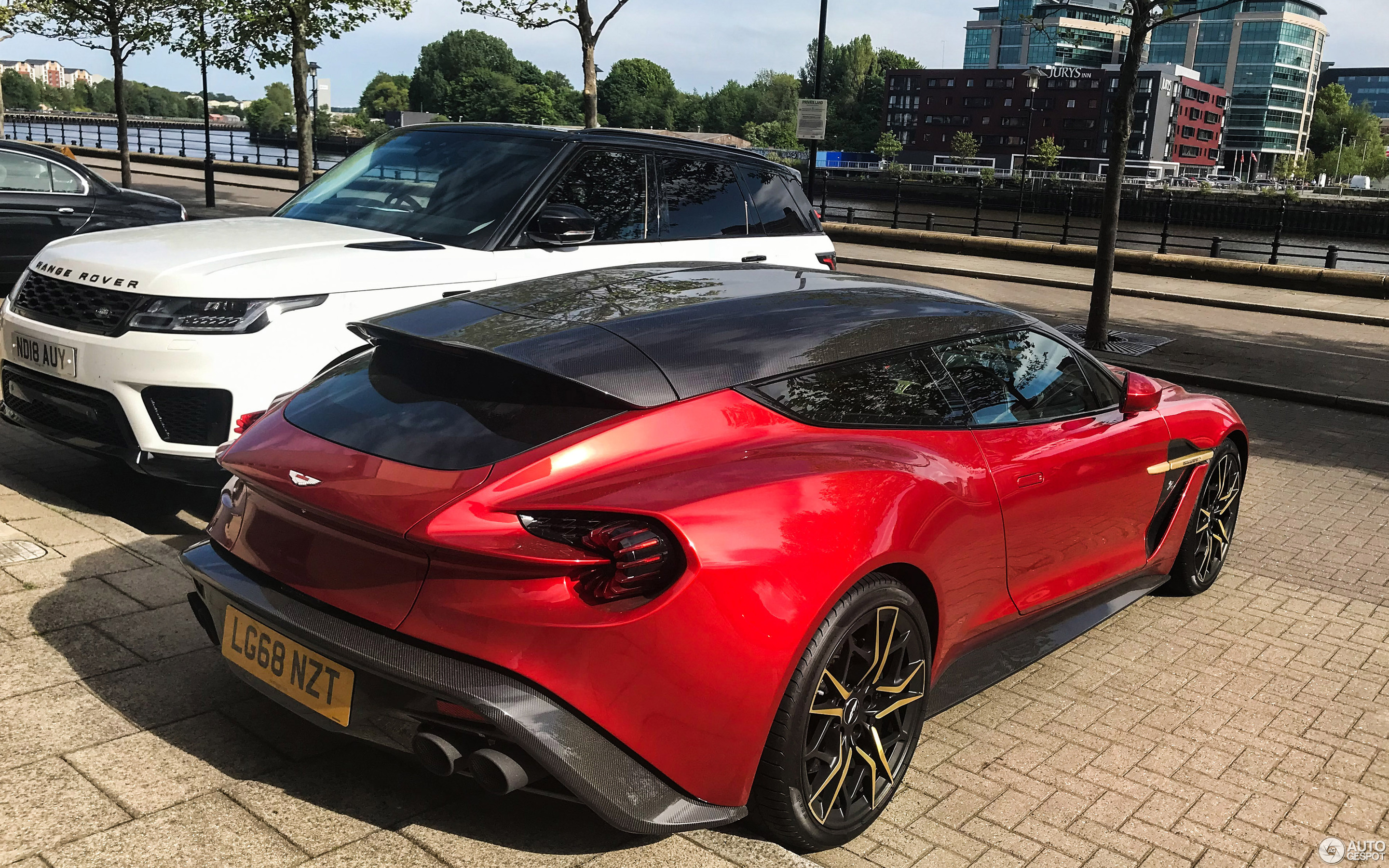 Aston Martin Vanquish Zagato Shooting Brake 26 May 2019 Autogespot