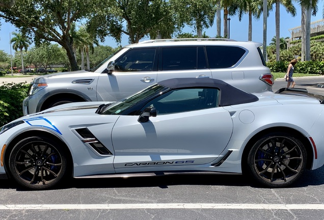 Chevrolet Corvette C7 Grand Sport Convertible Carbon 65 Edition