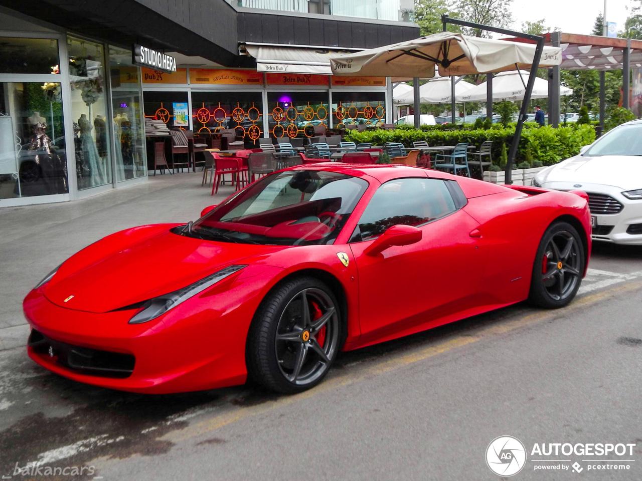 Ferrari 458 Spider - 29 May 2019 - Autogespot