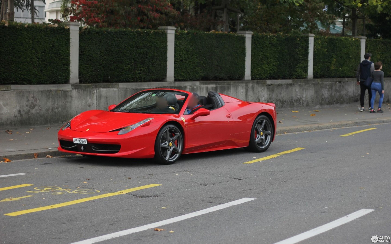 Ferrari 458 Spyder >> Ferrari 458 Spider 2 June 2019 Autogespot