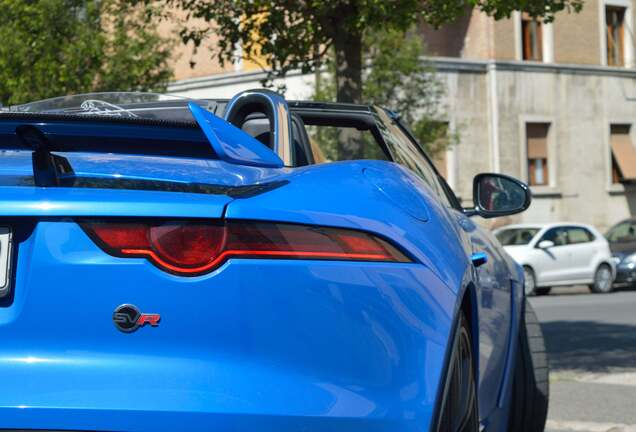 Jaguar F-TYPE SVR Convertible 2017