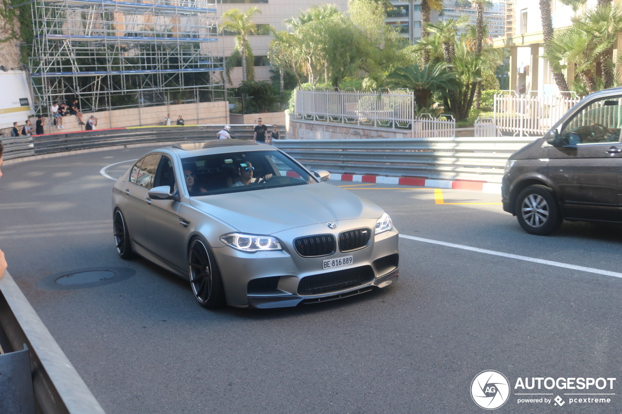 Bmw M5 F10 30 Jahre Edition 5 June 2019 Autogespot
