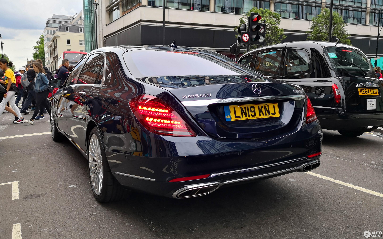 Mercedes-Maybach S 650 X222 2018