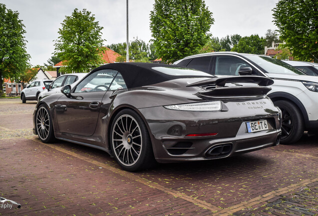 Porsche 991 Turbo S Cabriolet Edo Competition