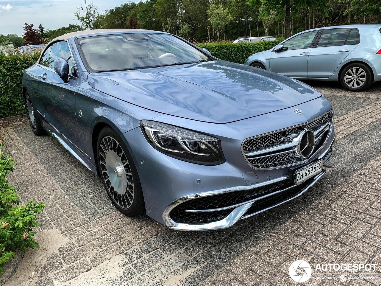Mercedes-Maybach S 650 A217 - 7 June 2019 - Autogespot