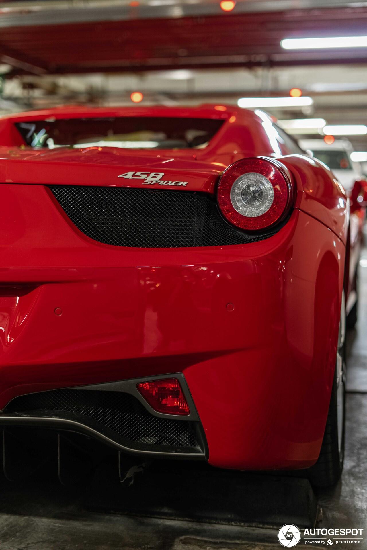 Ferrari 458 Spider - 9 June 2019 - Autogespot