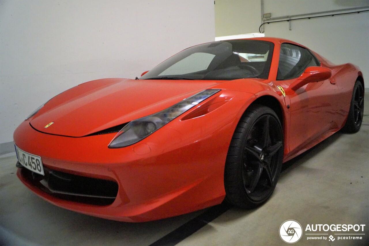 Ferrari 458 Spider - 12 June 2019 - Autogespot