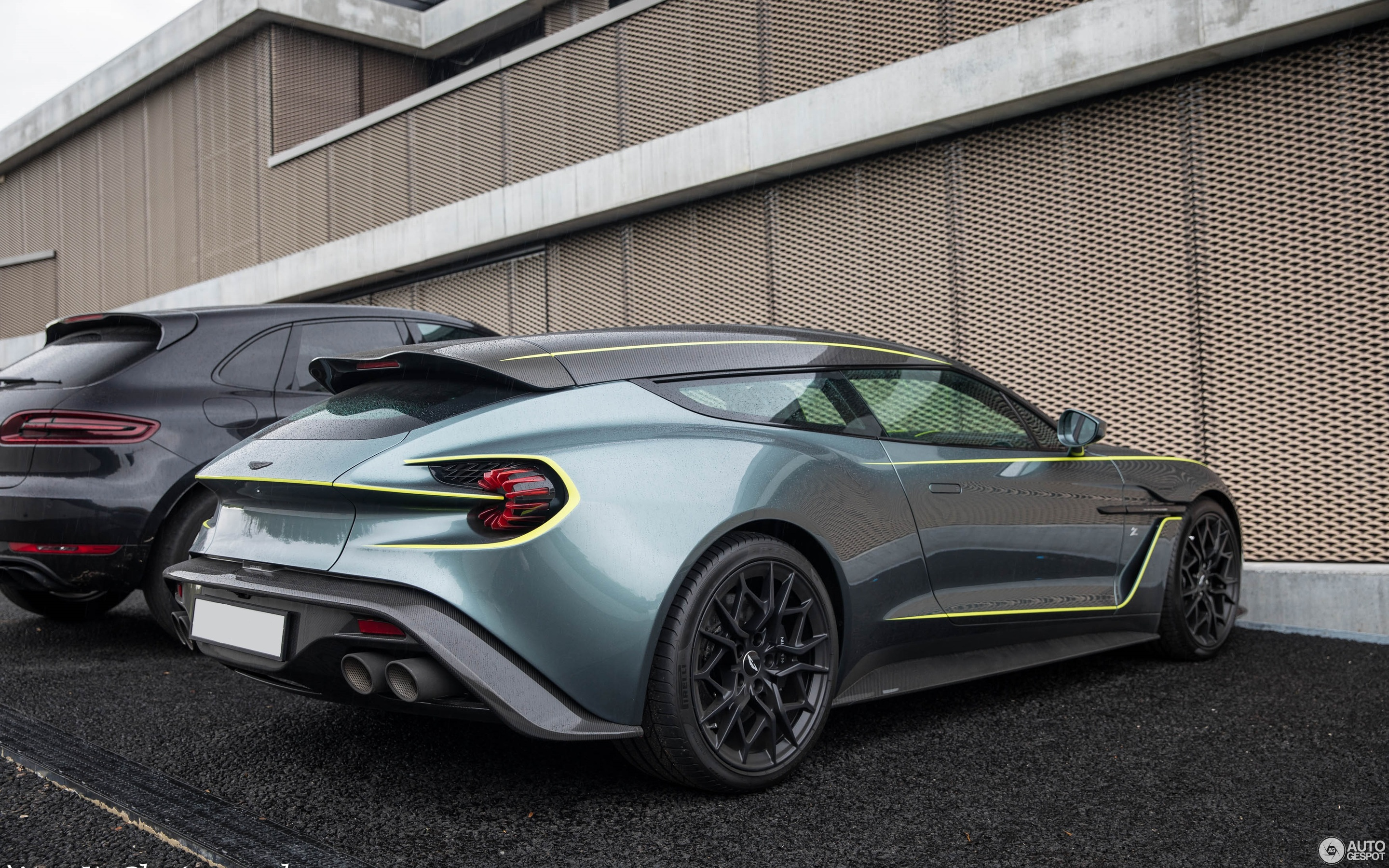 Aston Martin Vanquish Zagato Shooting Brake 13 June 2019 Autogespot