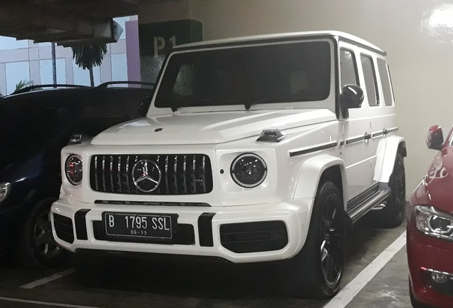 Mercedes-AMGG 63 W463 2018