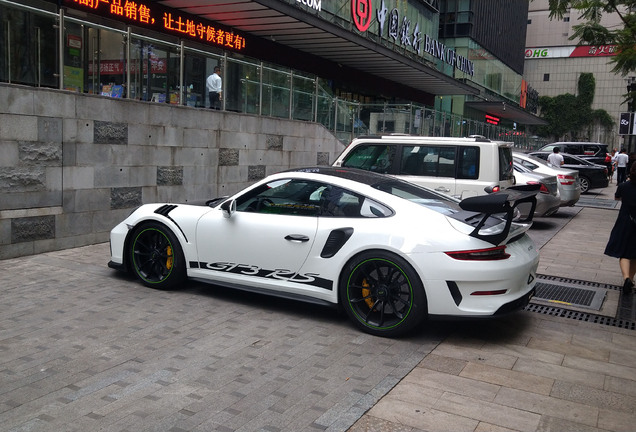 Porsche 991 GT3 RS MkII Weissach Package