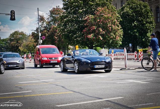 Aston Martin V8 Vantage Roadster 2012