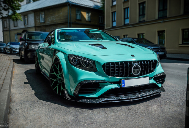 Mercedes-AMG Mansory S 63 Cabriolet Apertus Edition