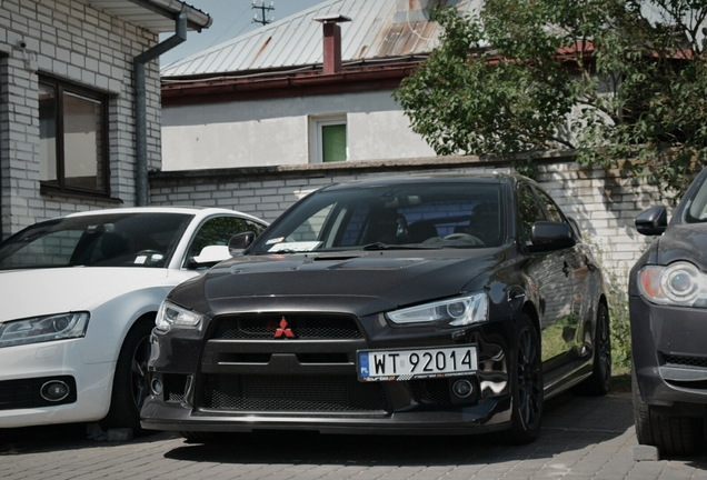 Mitsubishi Lancer Evolution X MR Swiss Edition