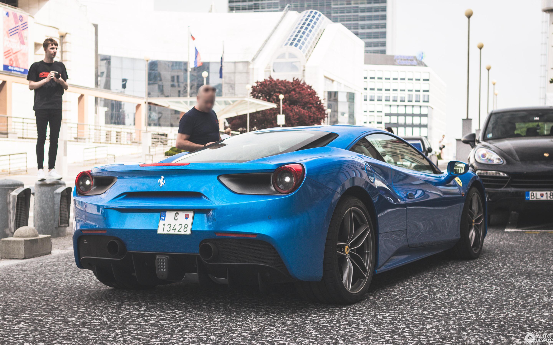 2019 Ferrari 488 Gtb Blue Supercars Gallery