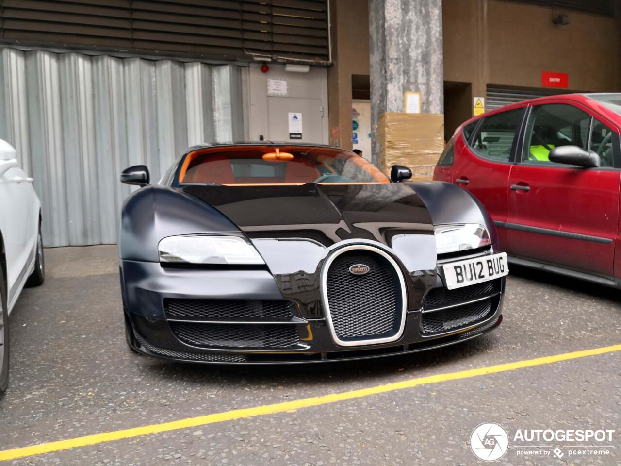 Bugatti Veyron 16 4 Super Sport Sang Noir 7 July 2019 Autogespot