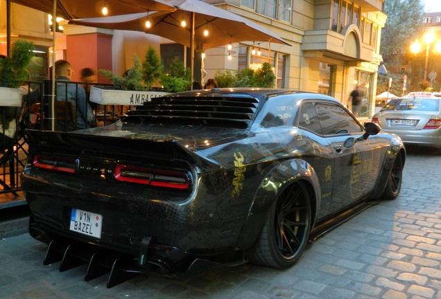 Dodge Challenger SRT Hellcat 2017 Liberty Walk