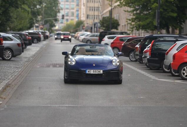 Porsche 992 Carrera S Cabriolet