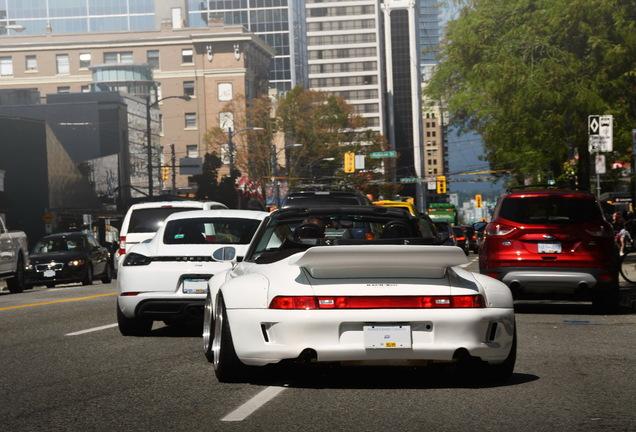 Porsche Rauh-Welt Begriff 993 Cabriolet