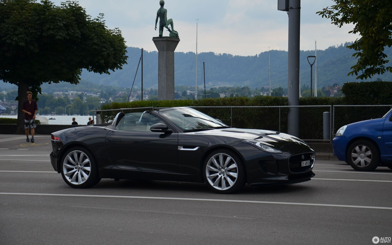 Jaguar F-TYPE S Convertible - 11 July 2019 - Autogespot
