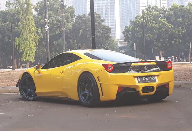 Ferrari 458 Italia SVR