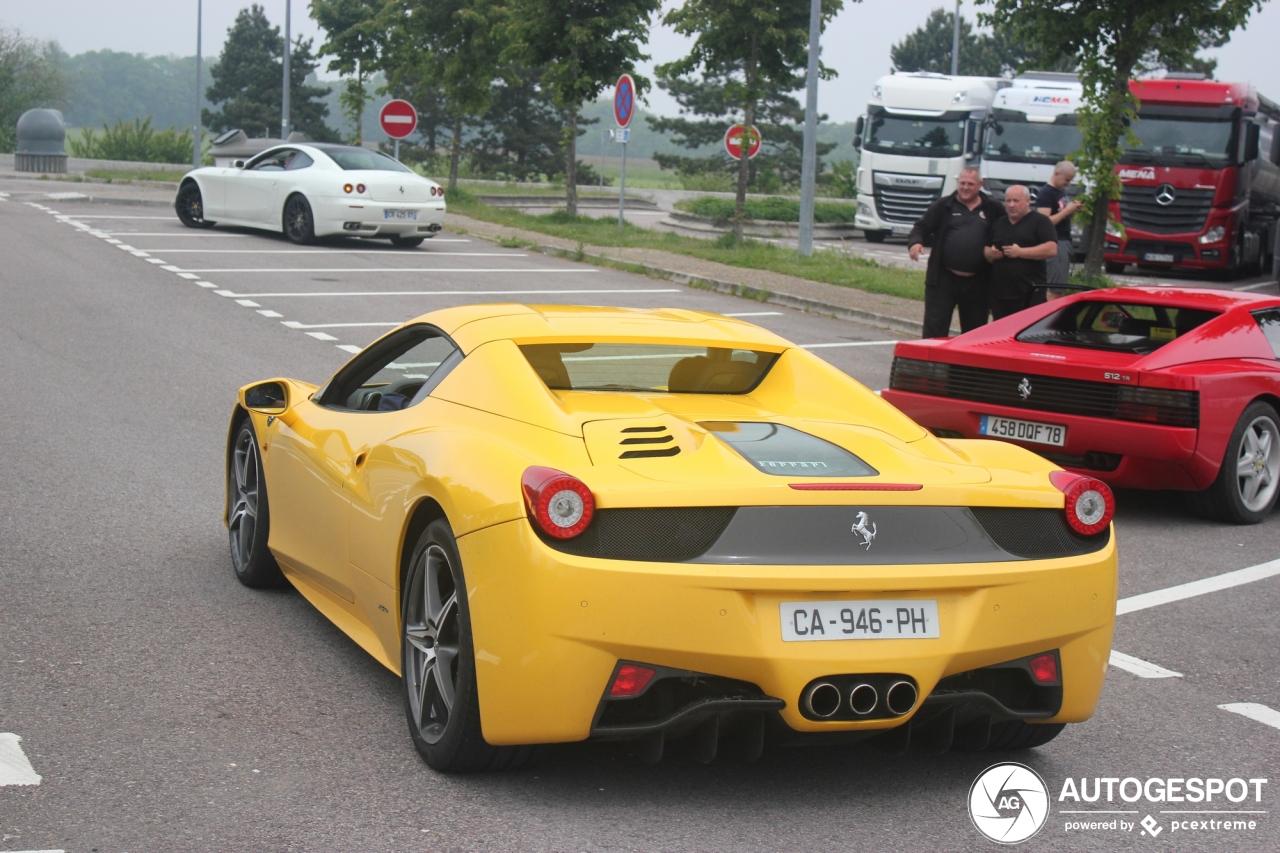 Ferrari 458 Spider - 18 July 2019 - Autogespot