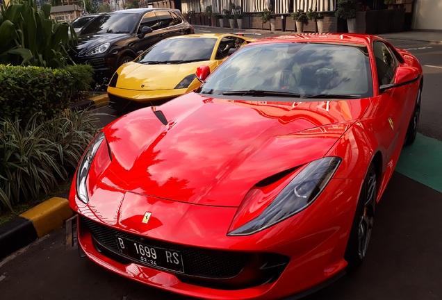 Ferrari812 Superfast Novitec Rosso