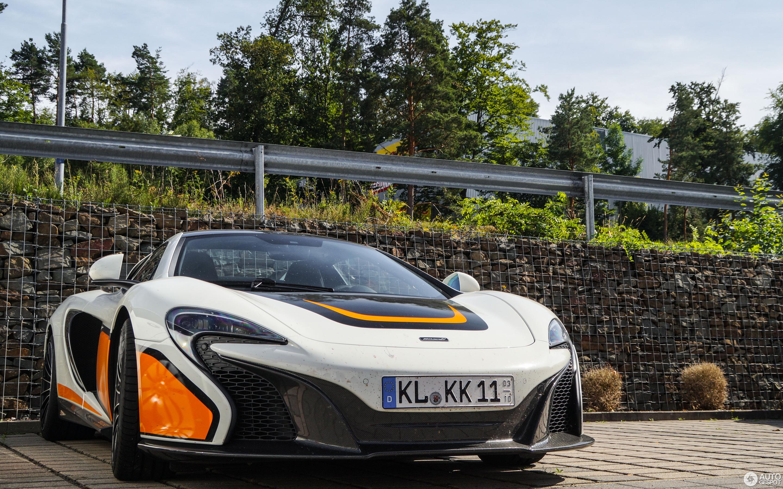 McLaren 650S Spider Nürburgring Record Edition