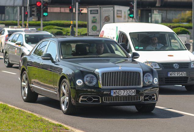Bentley Mulsanne Speed 2016