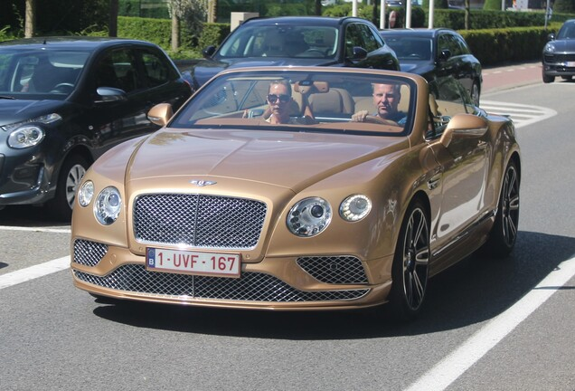 Bentley Continental GTC V8 S 2016 Timeless Series