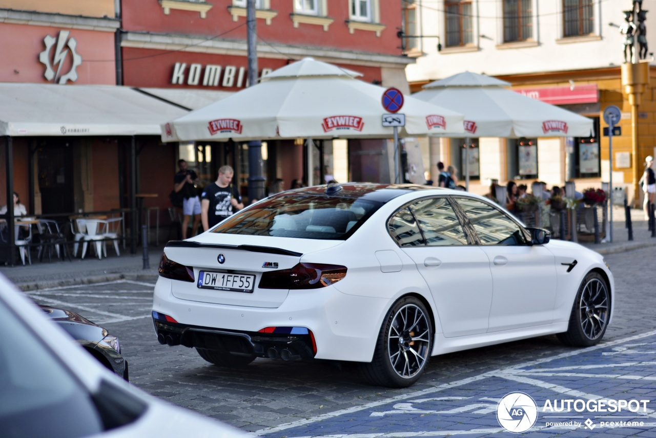 Bmw M5 F90 Competition 24 July 2019 Autogespot