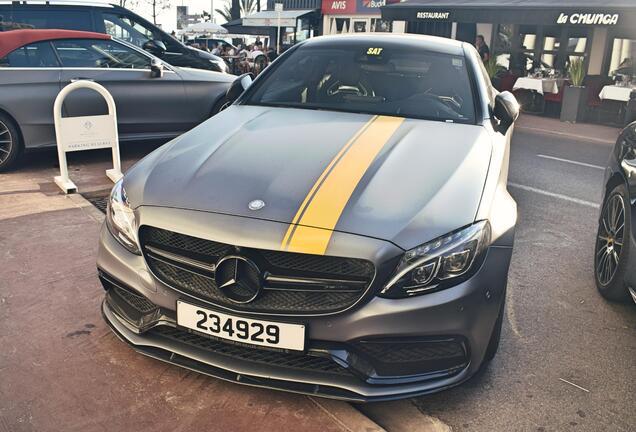 Mercedes-AMG C 63 S Coupé C205 SSR Performace