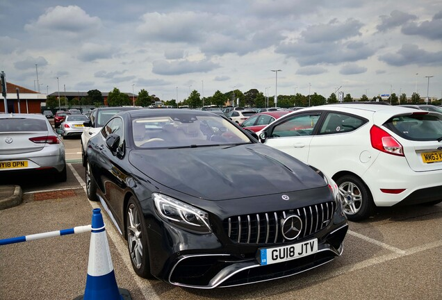 Mercedes-AMG S 63 Coupé C217 2018
