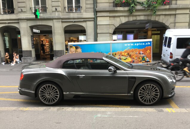 Bentley Mansory Continental GTC 2015