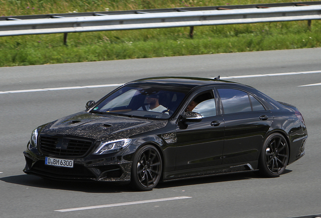 Mercedes-Benz Mansory S63 AMG W222 Black Edition