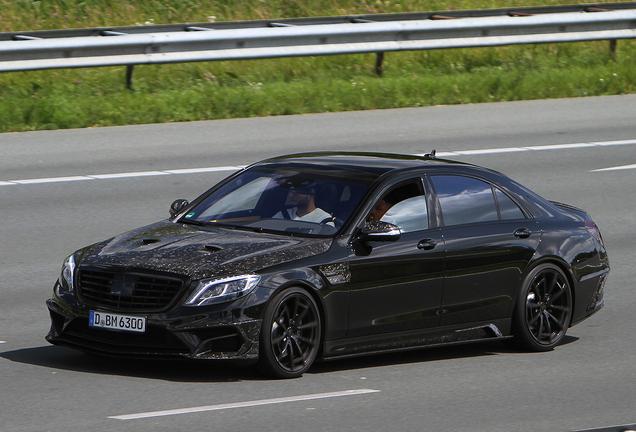 Mercedes-Benz Mansory S63 AMG W222 Black Edition