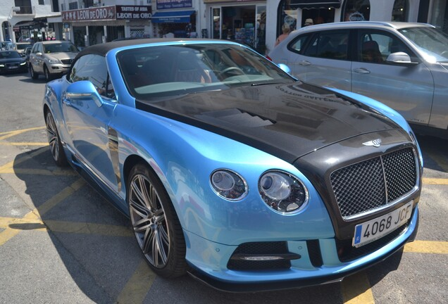 Bentley Mansory Continental GTC Speed 2015