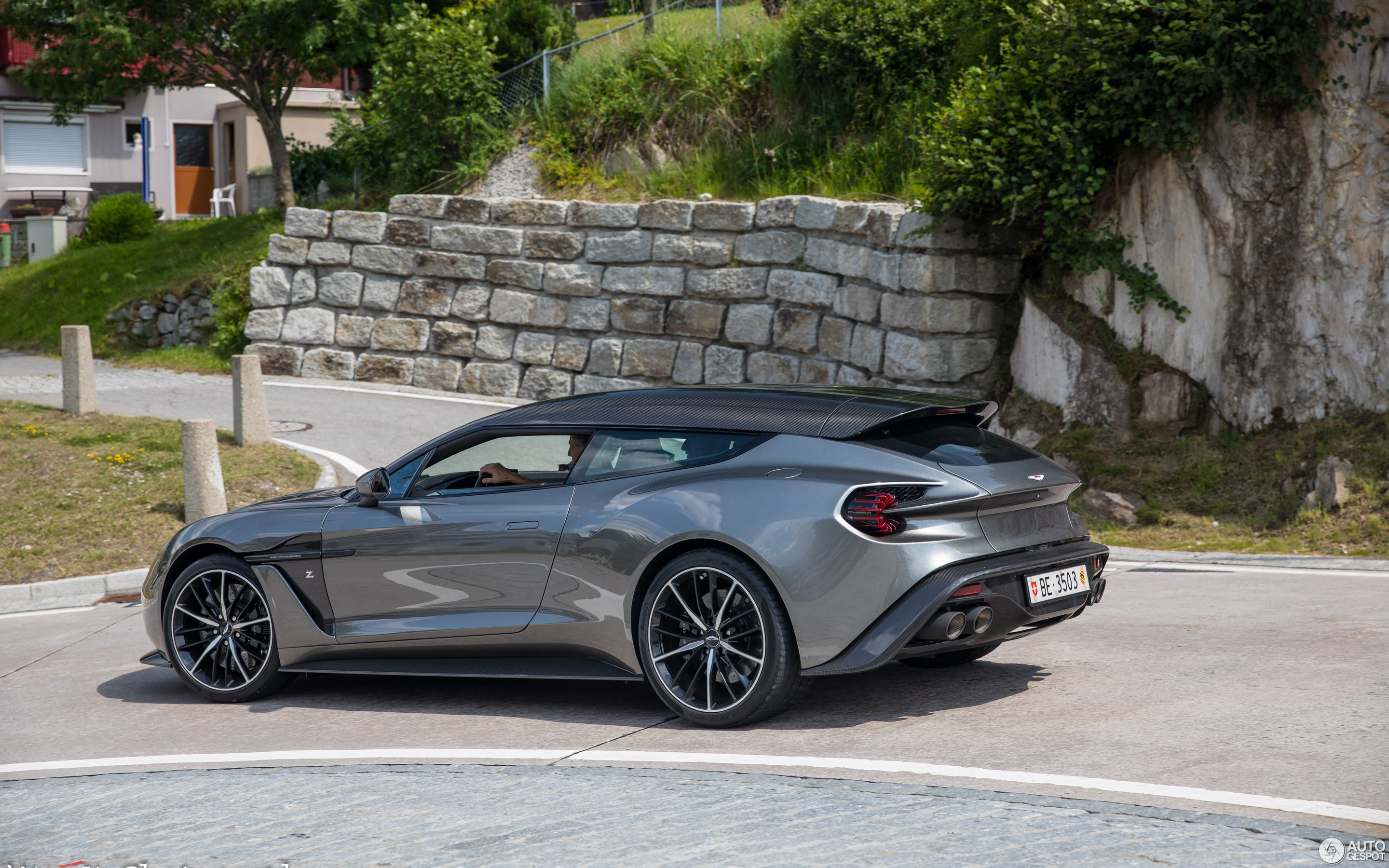 Aston Martin Vanquish Zagato Shooting Brake 6 August 2019 Autogespot