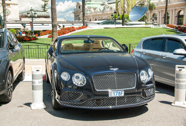 Bentley Continental GTC 2016