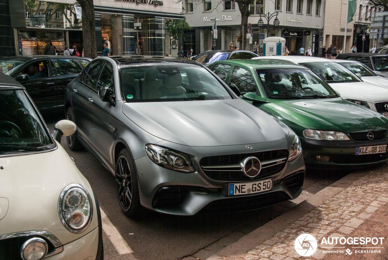 Mercedes-AMG E 63 S W213 - 10 August 2019 - Autogespot