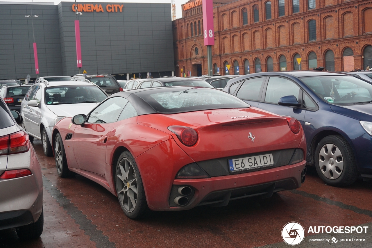 Ferrari California - 11 August 2019 - Autogespot