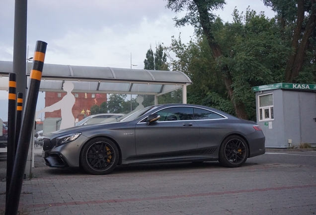 Mercedes-AMG S 63 Coupé C217 2018 Yellow Night Edition